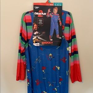 NEW Chucky Child's Play 2 Halloween costume men's